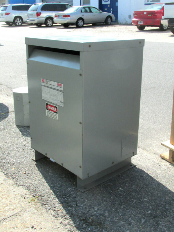 * Federal Pacific Transformer 51 KVA .. 3PH Cat# FH51CFMD-3 .. OD-341