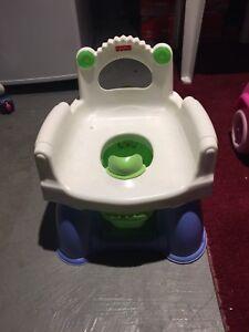 Fisher Price rocker potty trainer diaper genie
