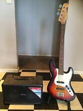 SX bass guitar and freedom amp Paralowie Salisbury Area Preview