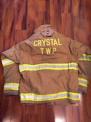 Firefighter Globe Turnout Bunker Coat 44x32 G-xtreme Costume 2006 No Cut Out