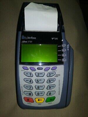 Verifone Vx510 Omni 3730 Credit Card Processor M251-000-03-na1 W Cord Wires