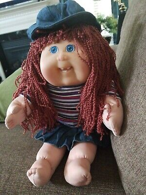CABBAGE PATCH KID DOLL Tru 1st Edition K7 CPK 2001 Toys are us Red Curly Signed for sale  Millsboro