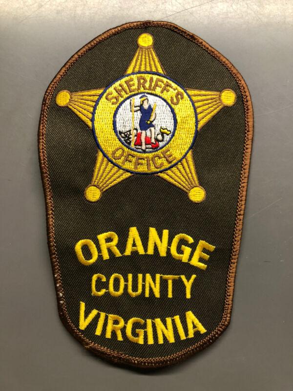 Orange County Virginia Sheriff Patch