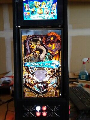 PopUp Tabletop Virtual Pinball Cabinet