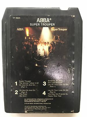 ABBA Super Trouper TP16023  8 Track Tape
