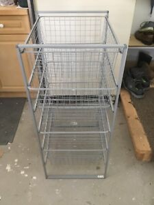 IKEA Antonio's wire baskets / drawers  in frame