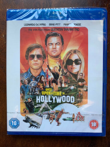 Once+Upon+a+Time...+in+Hollywood+Blu-ray+2019+Tarantino+Cult+Movie+BNIB