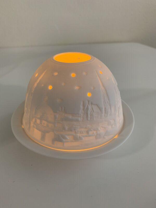 Hellmann Versand Starlight Porcelain Lithopane New In Box Style Nr. 233