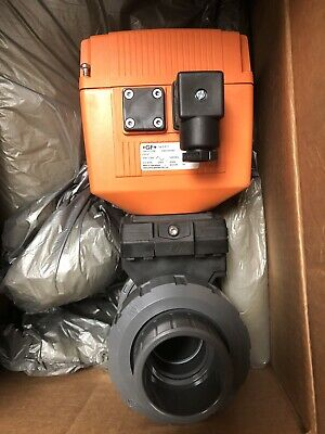 Georg Fischer Gf Type Ea12 Actuator 198151296 With Valve Condition Is New.