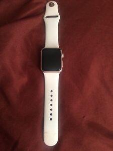 Rose Gold 38mm series 1 Apple Watch