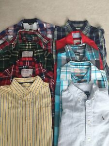 Boys size 5/6 long sleeve button shirts