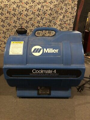 Miller Coolmate 4 Water Coolant System 042288 Used