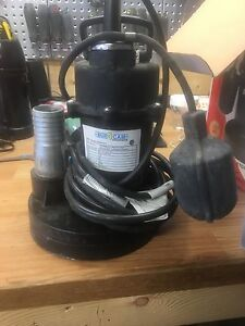 1/3 hp submersible sump for sale