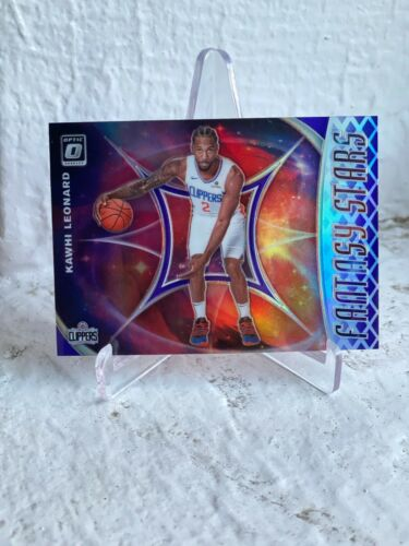 2019-20 DONRUSS OPTIC LOS ANGELES CLIPPERS KAWHI LEONARD FANTASY STARS SILVER