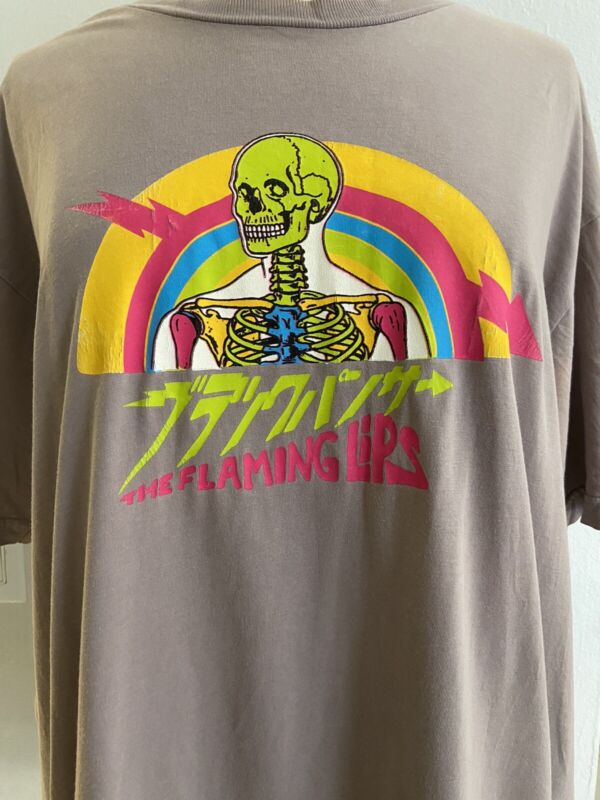 Rare Flaming Lips Tshirt 2007 Tour. Pre-owned. Size XXL