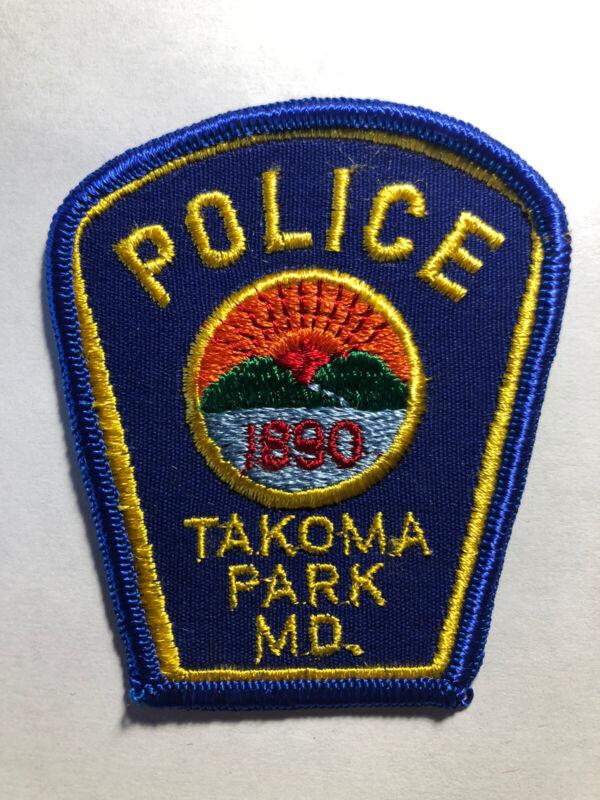 Takoma Park Maryland Police Patch