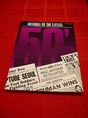- Still More Songs of the 50's Song Book 1995 Music Chord Charts Lyrics 53 Songs