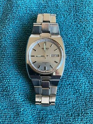 Vintage (June 1973) SEIKO Automatic 7006-6000, 19 Jewels watch, 1970s,