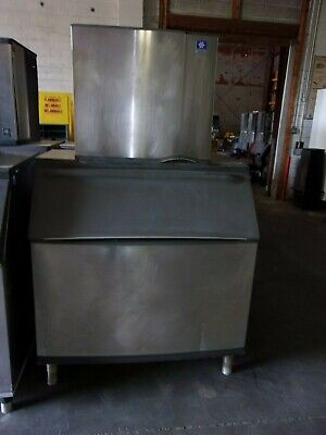 Manitowoc Qy1094n Ice Maker Machine W B970 Storage Bin Jc0895 Compressor