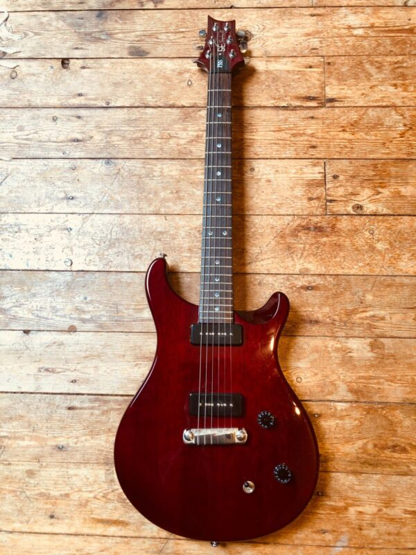 Paul Reed Smith PRS SE Soapbar II Electric Guitar in Cherry Red with Case
