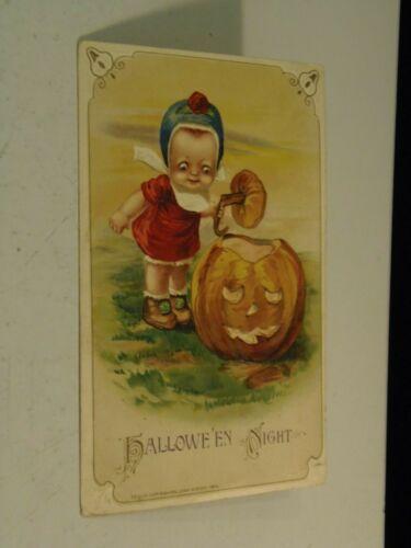 Halloween Night John Winsch 1914 Holiday Postcard 3/10/21