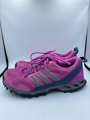 Adidas Kanadia 5 Trail Women Shoes Running UK 6 US 7.5 EU 39 Q22384 Purple