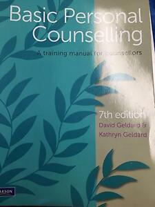 BASIC PERSONAL COUNSELLING - A training manual for counsellors Cronulla Sutherland Area Preview