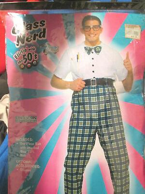 Class Nerd Adult Halloween Costume 50