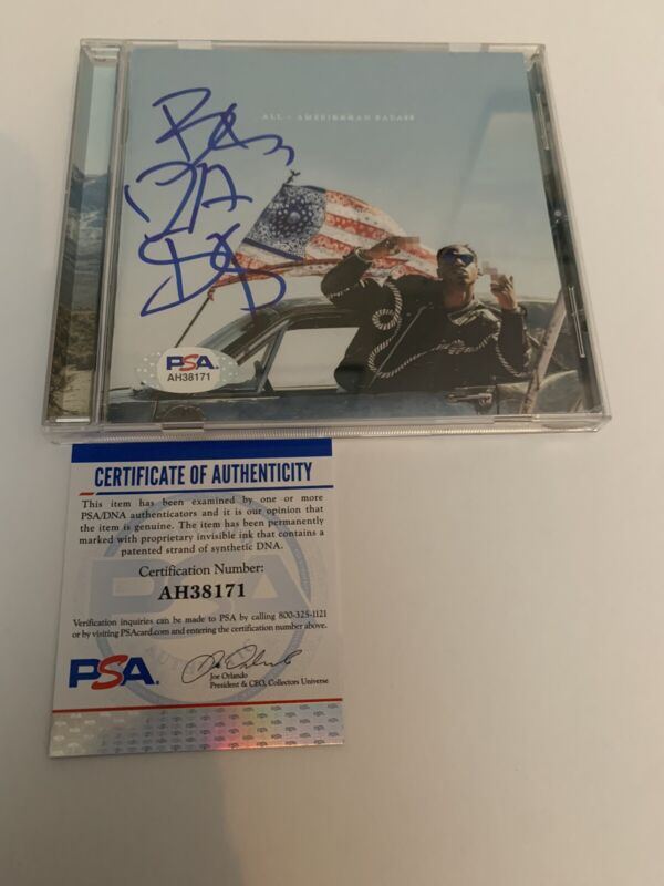 Joey Badass Signed All-Amerikkkan Bada$$ Cd New PSA/DNA Rare
