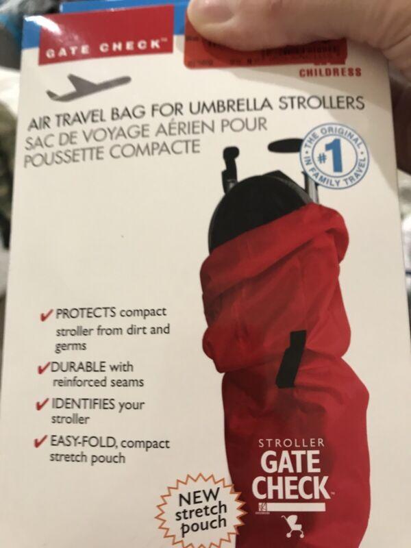 J.L Childress Gate Check Air Travel Bag For Umbrella Strollers