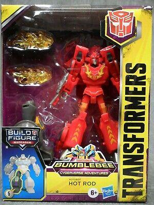 Transformers NEW * Hot Rod * Deluxe Cyberverse Adventures Bumblebee Wave 2
