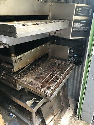 Turbochef Hhc2020 Double Stack Electric Conveyor Pizza Ovens.