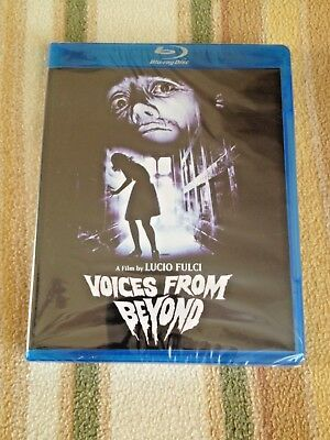 VOICES FROM BEYOND (1991) Blu-Ray Code Red LE UNCUT GORE Lucio Fulci - Zombie Voice