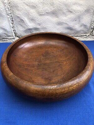 Vintage Walnut Fruit Bowl