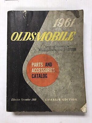 1961 Oldsmobile Parts And Accessories Catalog Chassis Edition