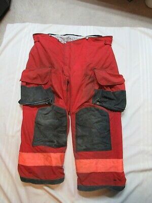 Lion Janesville 48s Firefighter Turnout Bunker Gear Pants Rescue Tow