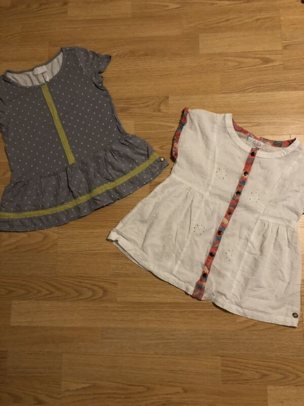 "2 ""Matilda Jane"" Tops Size 8"