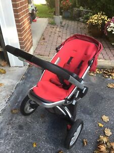 Quinny Buzz and Bassinet and Accessories