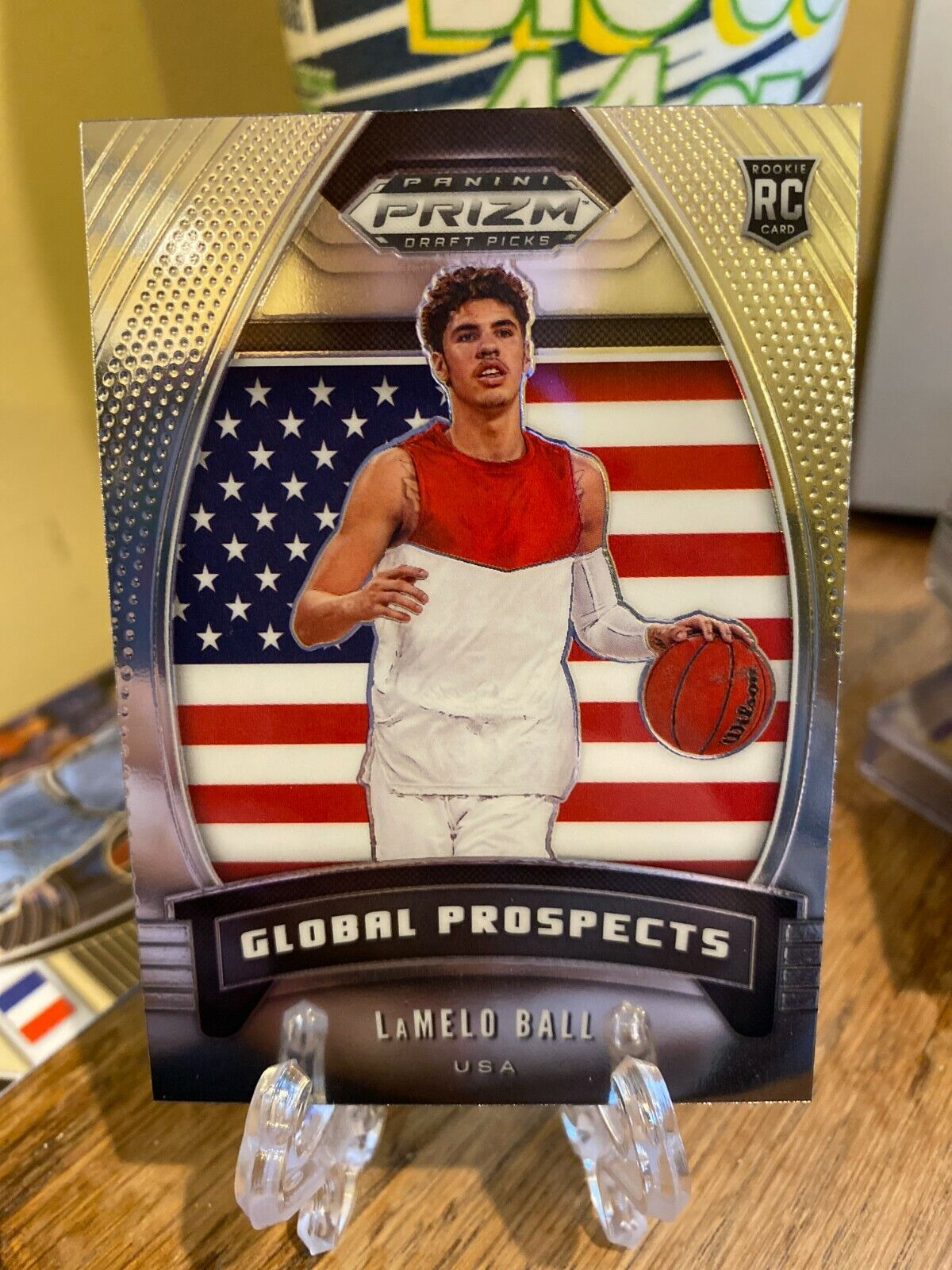 Certification Number 98 - LaMelo Ball (Global Prospects)