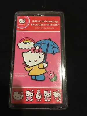 Hello kitty cricut cartridge for sale only 2 left at 75 new sealed cricut hello kitty greetings salutations hello kitty cartridge used for sale stafford m4hsunfo