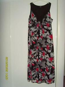 Ladies Black Multi Dress Size 26 Augustine Heights Ipswich City Preview
