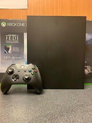 (NE6) Microsoft Xbox One X Console Boxed 1TB