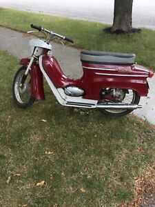 Vintage moped / scooter / motorcycle