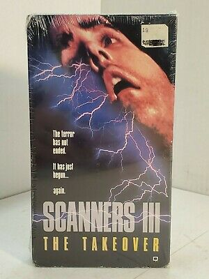 Scanners 3 - The Takeover (VHS, 1992) Sealed