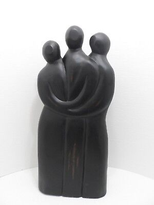 Pier One Imports Wooden Trio People 28 High 12 Wide Floor Decor Art Display