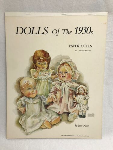 Vintage Paper Dolls from the 30