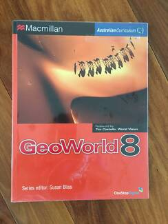"Macmillan ""GeoWorld 8"" Year 8 text book with digital access - VGC"