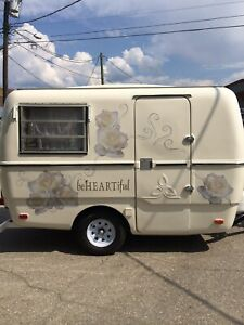 Beautified Trillium 1973 Vintage Trailer