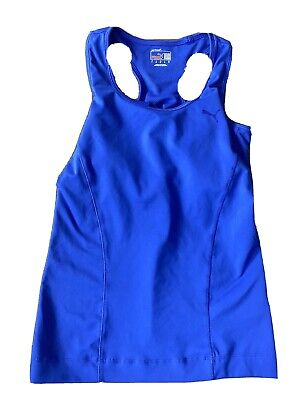 PUMA Ladies Sports Vest Top DryCell Running Gym Training Fitness S Size 10