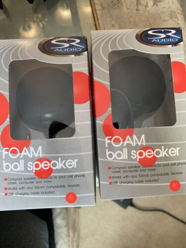 2 Foam Ball Speaker For Phone, Computer , Tablet And More